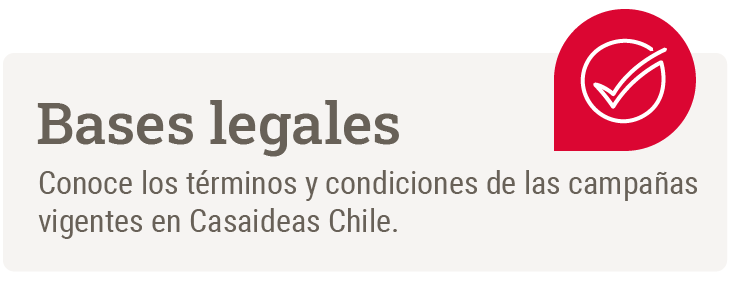 Bases legales Casaideas Chile